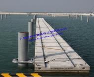 混凝土浮桥码头2