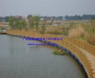 水上浮桥栈道1