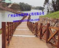 水上浮桥栈道2